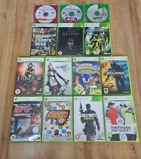 Microsoft Xbox 360 14 Games Bundle/Joblot Fable 2 Bioshock Tony Hawks UFC 2009