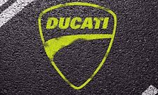 DUCATI STREET LOGO 3'X5' WIDE VINYL BANNER MAN CAVE GARAGE SIGN MECHANICS USA