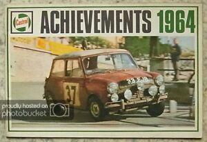 CASTROL MOTOR SPORT Successes Achievements Records 1964 LE MANS Sebring MONZA