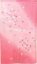 Noren Hanging curtain Door Home Decor Flower Cherry blossom Pink Made in japan