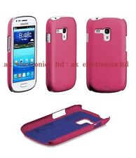 PINK IMPACT PROTECTIVE BACK CASE COVER ETUI FOR SAMSUNG GALAXY S3 SIII MINI