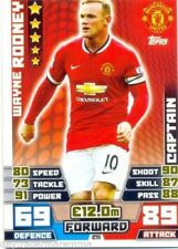 Manchester United 2014-2015 Season Soccer Trading Cards