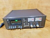 Vintage 1980's Dolby System Dual C819 Stereo Cassette Deck Parts/Repair