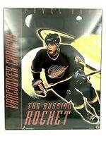 Rare Vintage Pavel Bure Wooden Wall Art - The Russian Rocket Vancouver Canucks