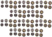 Moldova - 10 pcs x set 4 coins 1 + 2 + 5 + 10 Lei 2018 - 2020 UNC Lemberg-Zp
