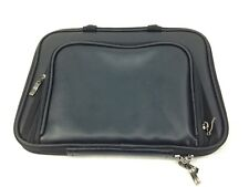 "Case Crown Cloth Zip Up Carrying Case For Laptops, Netbooks, 12"" Leather"
