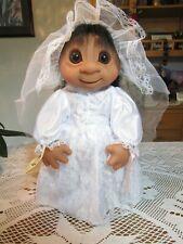 "Giant Bride w/Hang Tag - 17"" Dam Troll Doll - New In Original Bag - Last Ones"