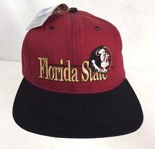 Vintage Florida State Seminoles Snapback Hat Cap THE GAME Football NWT