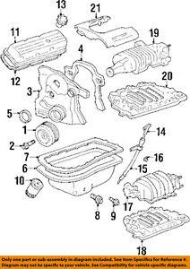 Pontiac GM OEM 92-94 Bonneville Engine Parts-Drain Plug 3921988