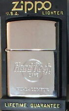 Hard Rock Cafe KUALA LUMPUR Silver Chrome ZIPPO Lighter NEW w/Red Sticker in Box