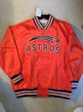 New Mitchell & Ness Authentic Houston Astros 1971 Lined Satin Jacket size 60,