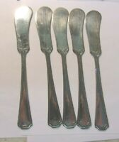 Vintage Silver Plate Kenilworth Butter Knives - lot of 5 REDUCED