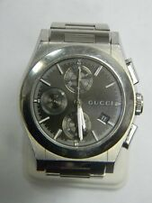 GUCCI Pantheon Automatic Chronograph Stainless Steel Watch YA115205