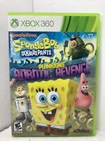 NEW SpongeBob SquarePants Plankton's Robotic Revenge (Microsoft Xbox 360) NIB