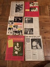 New Kids on the Block Nkotb Vintage Clippings Family Stories