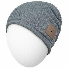 New listing Qshell Wireless Bluetooth Beanie Hat Headphones Headsets Music Audio Cap with.