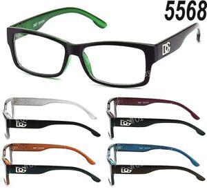 New WB Clear Lens Square Frame Eye Glasses Designer Womens Mens Fashion Retro RX