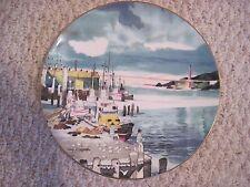 Royal Doulton Plate Doug Kingman San Francisco Fishermans Wharf 1975