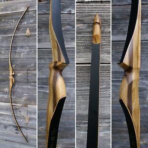 68'' traditional longbow 36#@28'' American Flatbow AFB ASL