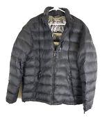 Calvin Klein, Men's Packable Down Hooded Puffer Jacket, Black, Size L