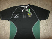 Nwt New Gilbert Created Perform Sierra Foothills Rugby Club Jersey Shirt M Black
