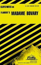 Madame Bovary by Gustave Flaubert; Cliffs Notes (1964, Paperback, Revised)