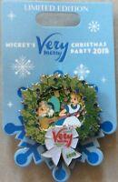 NEW Disney MVMCP 2018 Very Merry Christmas Alice in Wonderland Wreath Pin