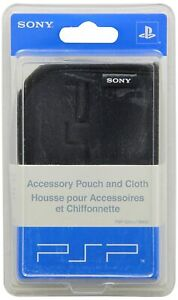 New OEM Sony Official PSP Accessory Carrying Case And Cloth