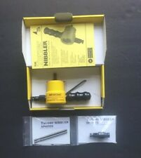 Turner Nibbler Made In Uk Sheet Metal Cutting Attachment For Drills