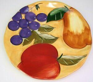 Verdona Dinner Plate (s) Home Trends Fruit