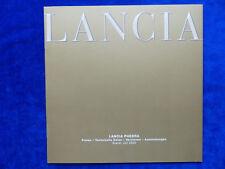 Lancia Phedra - Preisliste - Prospekt Brochure 07.2003