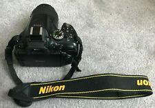 Nikon D5200 24.1MP fotocamera DSLR e 18-55mm Lens VRii ottime condizioni
