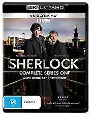 Sherlock: Series 1 (4K UHD) Blu ray, RB NEW & SEALED