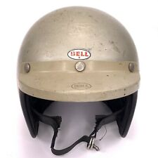 BELL SUPER MAGNUM MOTORCYCLE HELMET GRAY VINTAGE 1960's to 1970's