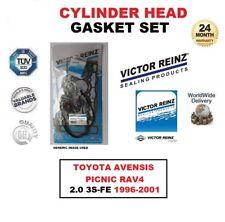 VICTOR REINZ HEAD GASKET SET for TOYOTA AVENSIS PICNIC RAV4 2.0 3S-FE 1996-2001