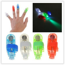 10 pcs Finger Light Up Ring Laser LED Rave Dancing Party Favors Glow Beams Toy