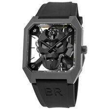 New Bell & Ross BR 01 Cyber Skull Limited Edition Men's Watch BR01-CSK-CE/SRB