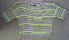 STRIKING OPEN KNIT JUMPER FROM GEORGE - SIZE 20