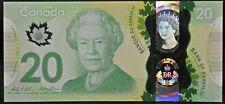 ERROR 2015 Bank of Canada $20 Queen Elizabeth II Commemorative Note