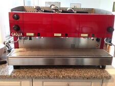 Espresso Maschine Gaggia,Halbautomat, 3 Gruppen Siebträger