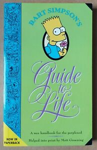 BART SIMPSON'S GUIDE TO LIFE _ MATT GROENING  _ 2000 _ THE SIMPSONS _