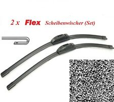 2 x FLEX Scheibenwischer Ford Fiesta (Typ JH1/JD3) Super Optik Soft-Flex in OVP