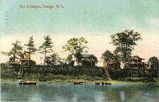 The Cottages on the River, Owego Ny 1908