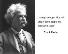 Mark Twain Famous Quote 8 x 10 Photo Picture #r1