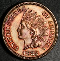 1882 INDIAN HEAD CENT - PROOF PR PF - Only 3,100 MINTED