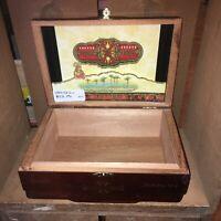 Arturo Fuente Opus X Perfection No 4 Empty Wooden Cigar Box 9x6.25x3.5