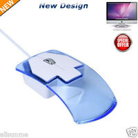 New Design 1600 DPI Optical USB LED Wired Game Mouse Mice For PC Laptop Computer