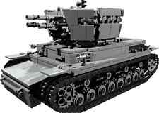 CUSTOM building INSTRUCTION - for WW2 Wirbelwind to build out of LEGO® parts