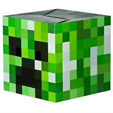 Minecraft Box Head Cardboard Fancy Dress Costume Party-Creeper