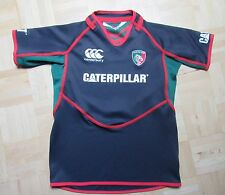 LEICESTER TIGERS RUGBY Kids jersey shirt CANTERBURY Caterpillar BOY/ 10 yrs